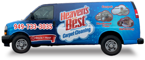 Heaven's Best Carpet Cleaning Van