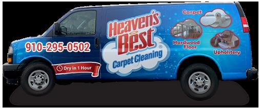 Heaven's Best Carpet Cleaning Van